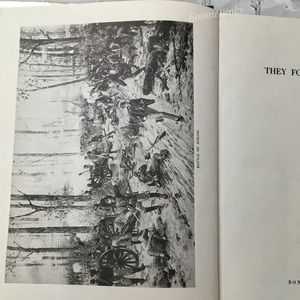 Vintage Accents - Vtg 1960 CIVIL WAR HISTORY BOOK, They Fought For